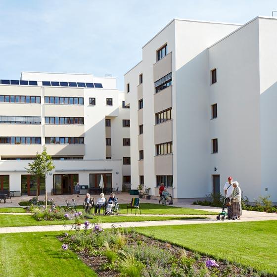Pflege Goldbergweg - Einrichtung